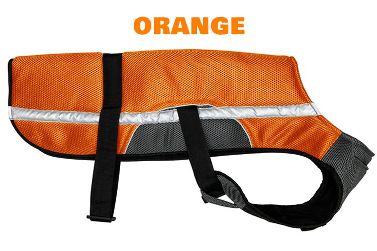 Kool Jack Dog Vest Orange, Keep Your Dog Cool Anywhere You Go